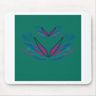 Tapis De Souris Vert d'Ethno de mandala de conception
