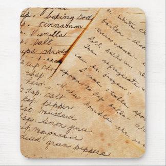 Tapis De Souris vieilles recettes de famille
