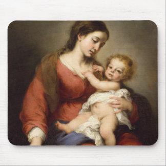 Tapis De Souris Vierge et enfant