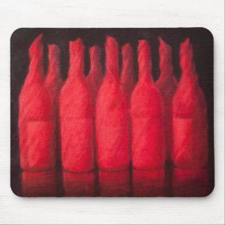 Tapis De Souris Vin enveloppé par rouge 2012