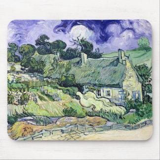 Tapis De Souris Vincent van Gogh   a couvert des cottages de