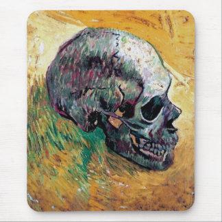 Tapis De Souris Vincent van Gogh - crâne dans le profil -