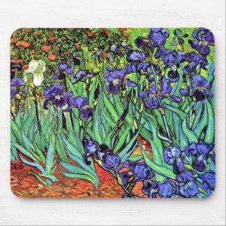 Tapis De Souris Vincent van Gogh - iris - beaux-arts d'amant de