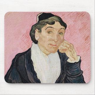Tapis De Souris Vincent van Gogh | la femme d'Arles