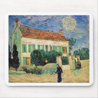 Tapis De Souris Vincent van Gogh - la Maison Blanche à