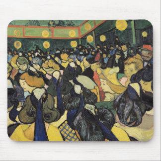 Tapis De Souris Vincent van Gogh | la salle de danse chez Arles,