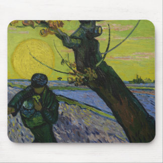 Tapis De Souris Vincent van Gogh - le semeur