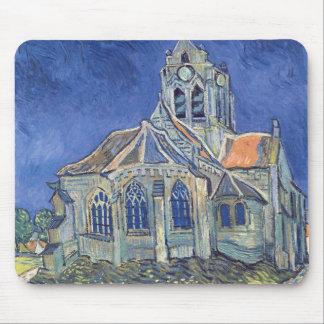 Tapis De Souris Vincent van Gogh | l'église à l'Auvers-sur-Oise