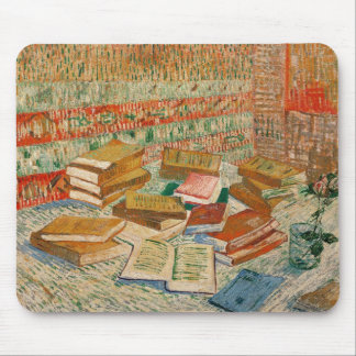 Tapis De Souris Vincent van Gogh | les livres jaunes, 1887
