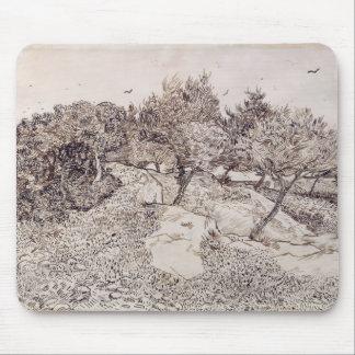 Tapis De Souris Vincent van Gogh | les oliviers