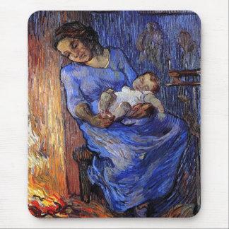 Tapis De Souris Vincent van Gogh - l'homme est aux beaux-arts de