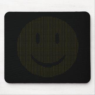 Tapis De Souris Visage souriant fait de visages souriants