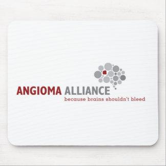 Tapis De Souris Vitesse classique de logo d'Alliance d'angiome