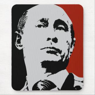 Tapis De Souris Vladimir Poutine rouge