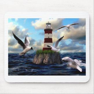 Tapis De Souris Voler d'oiseaux de phare