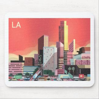 Tapis De Souris Voyage vintage de Los Angeles