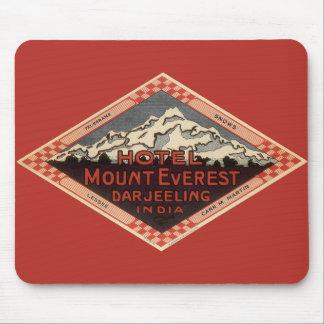 Tapis De Souris Voyage vintage, le mont Everest, Darjeeling Inde