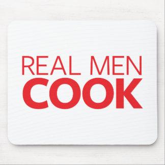 Tapis De Souris Vrai cuisinier d'hommes