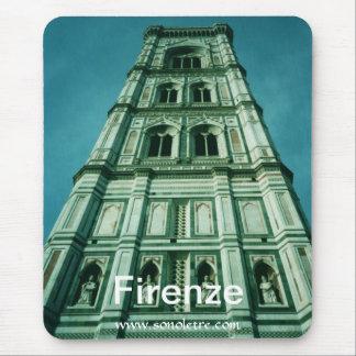 Tapis De Souris Vue de campanile de Firenze