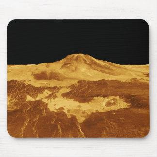 Tapis De Souris vue de perspective 3D de Maat Mons sur Vénus