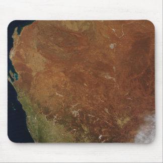 Tapis De Souris Vue satellite d'Australie occidentale