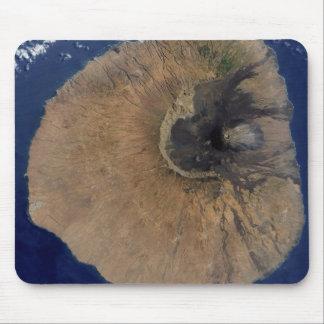 Tapis De Souris Vue satellite de bâti Fogo