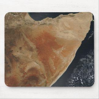 Tapis De Souris Vue satellite de la Corne des Afrique