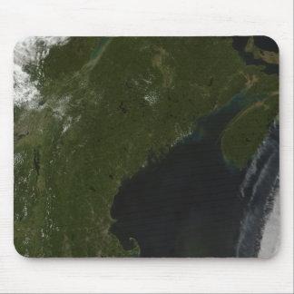 Tapis De Souris Vue satellite de la Nouvelle Angleterre