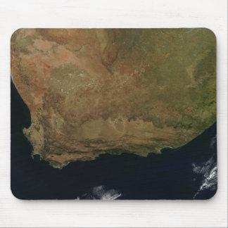 Tapis De Souris Vue satellite de l'Afrique du Sud