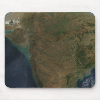 Tapis De Souris Vue satellite de l'Inde centrale
