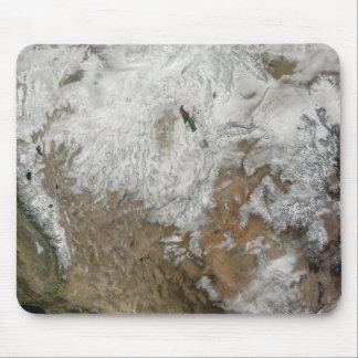 Tapis De Souris Vue satellite des Etats-Unis occidentaux