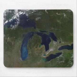 Tapis De Souris Vue satellite des Great Lakes