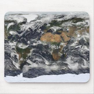 Tapis De Souris Vue satellite détaillée de la terre