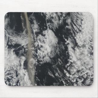 Tapis De Souris Vue satellite d'une plume de cendre
