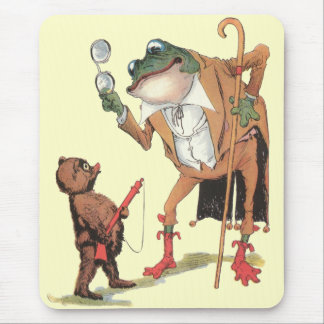 Tapis De Souris Waddle Captures corporel l'homme-grenouille