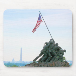 Tapis De Souris Washington DC de mémorial d'Iwo Jima