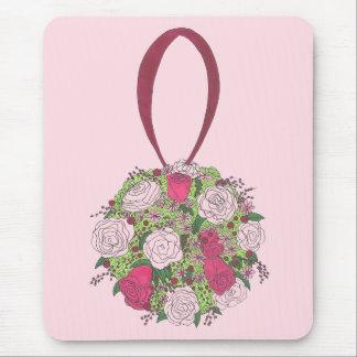 Tapis De Souris Wedding shower nuptiale de bouquet de fleur de