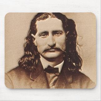 Tapis De Souris Wild Bill Hickok peignant le portrait