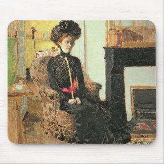 Tapis De Souris Woman assise, 1901