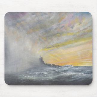 Tapis De Souris Yamato émerge de l'ouragan Pacifique 1944 2010