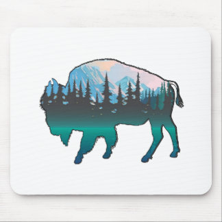 Tapis De Souris Yellowstone errant