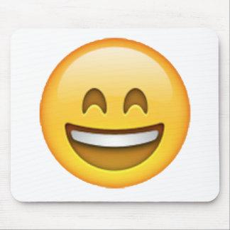 Tapis De Souris Yeux fermés de sourire - Emoji