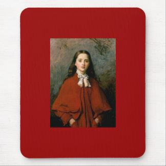 Tapis De Souris Yeux lumineux par monsieur John Everett Millais
