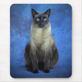 Tapis De Souris Yoshi le chaton siamois Mousepad de chat de Kitty