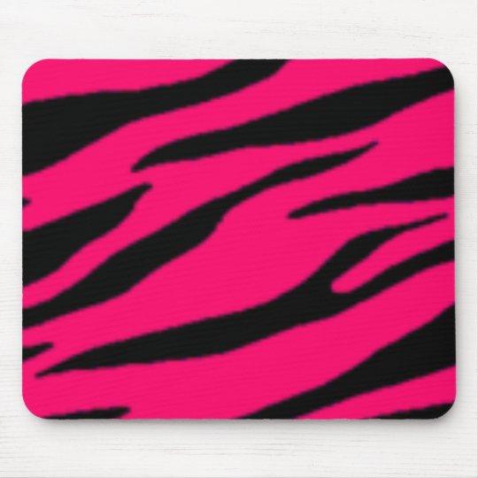 tapis de souris pink black zebra mousepad. Black Bedroom Furniture Sets. Home Design Ideas