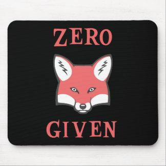 Tapis De Souris Zéro (Fox) donné