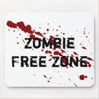 Tapis De Souris Zone franche de zombi