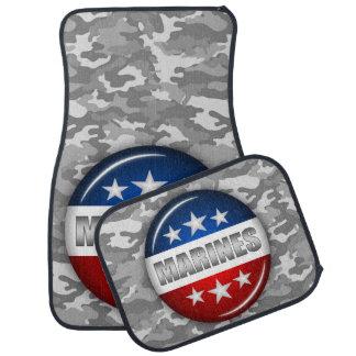 Tapis De Voiture Camouflage marin #2 de Camo d'emblème