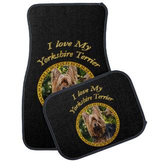 Tapis De Voiture Chien doux de terrier de Yorkshire petit