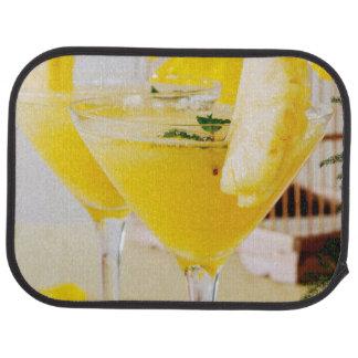 Tapis De Voiture Cocktail de Fresca d'ananas et de gingembre